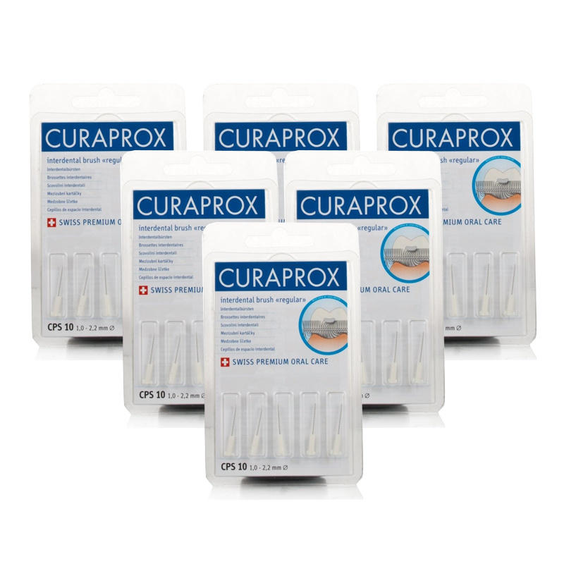 Curaprox Regular White CPS10 - 6 Pack