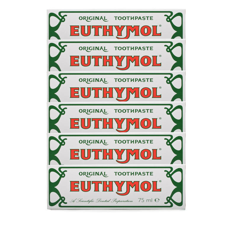 Euthymol Original Toothpaste - 6 Pack