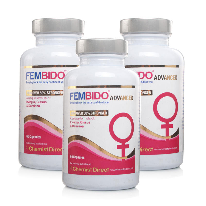 Fembido Advanced Sexual Enhancer - 180 Capsules