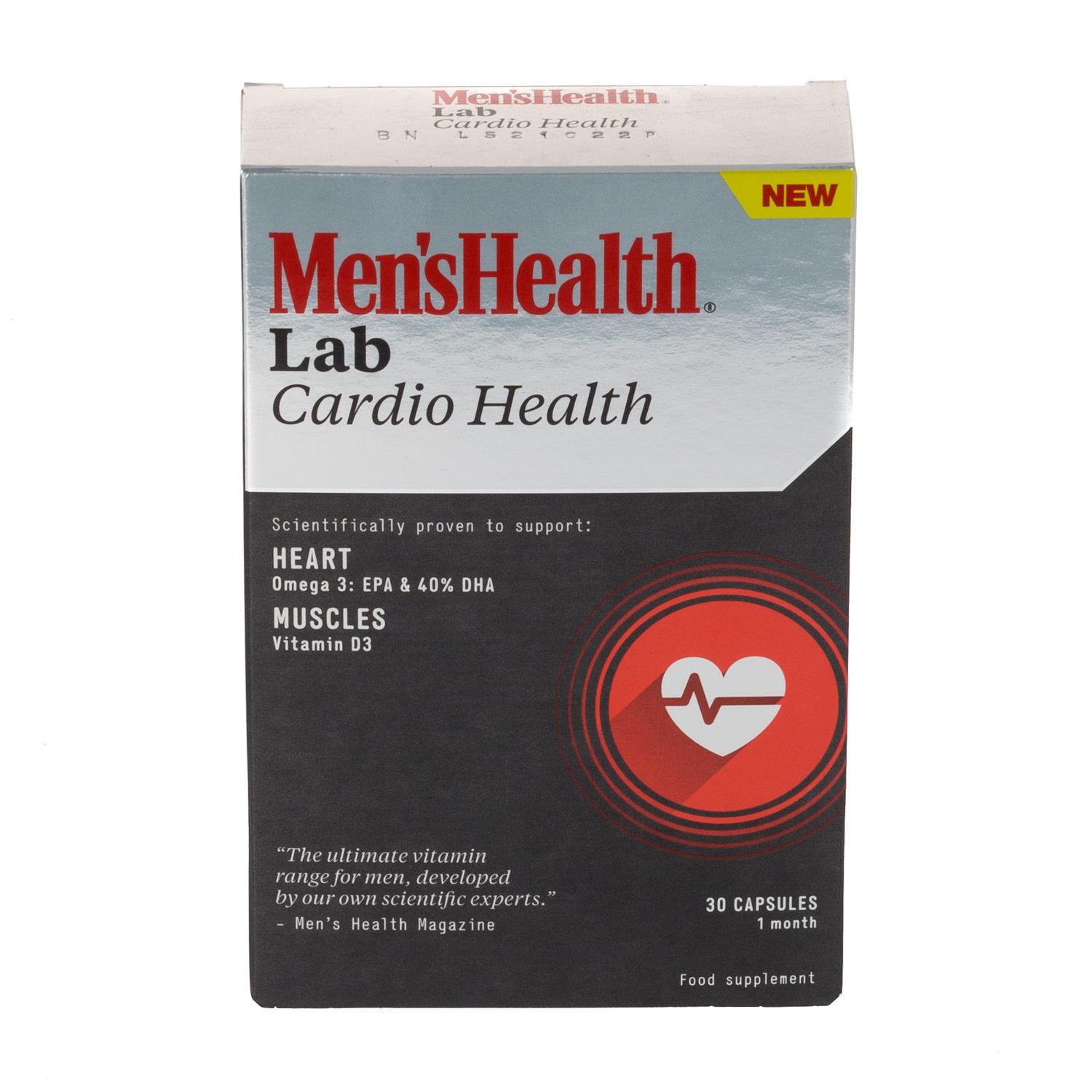 Mens Health Cardio Health 30 Capsules 1 Month Supply