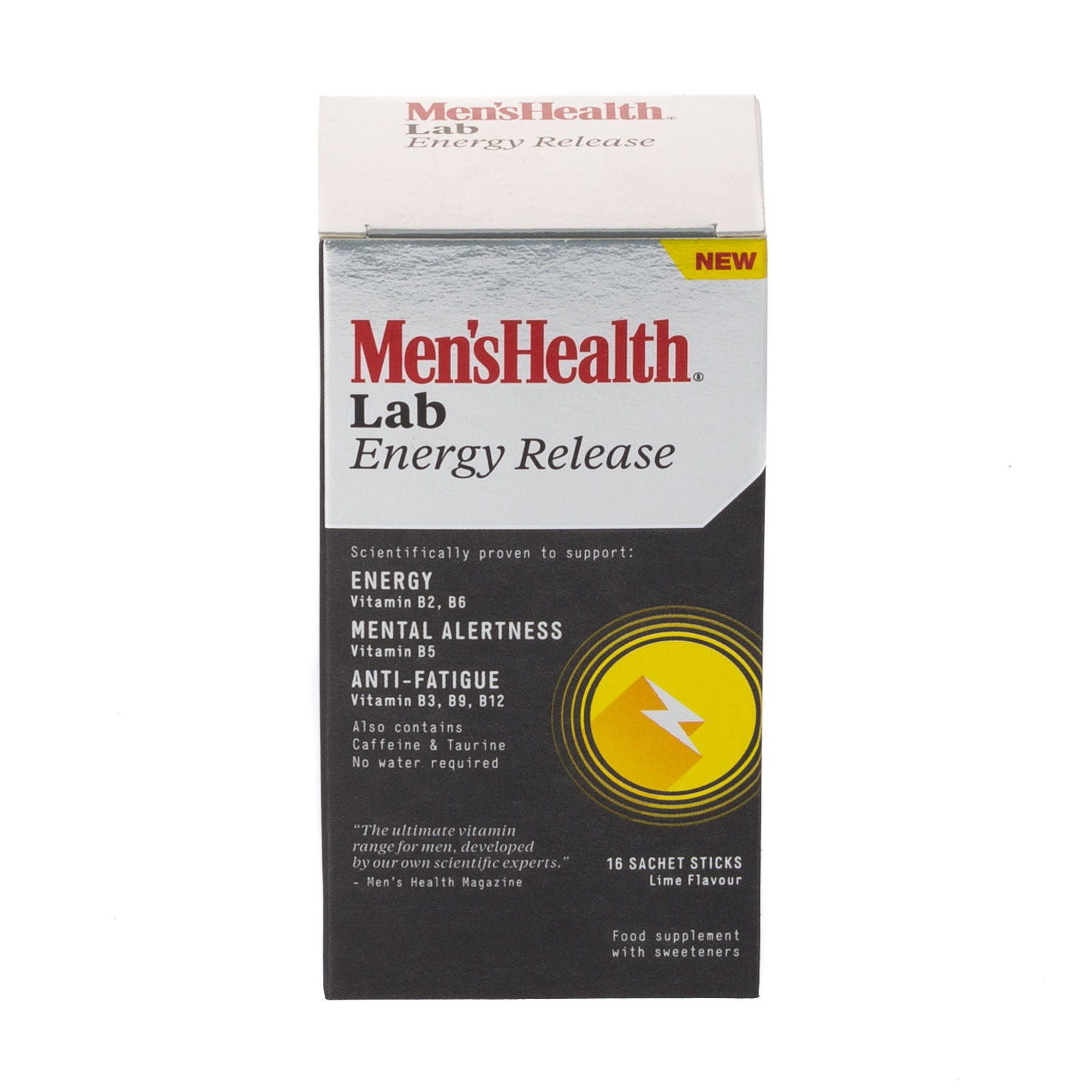 Mens Health Energy Release 16 Lime Sachet Sticks