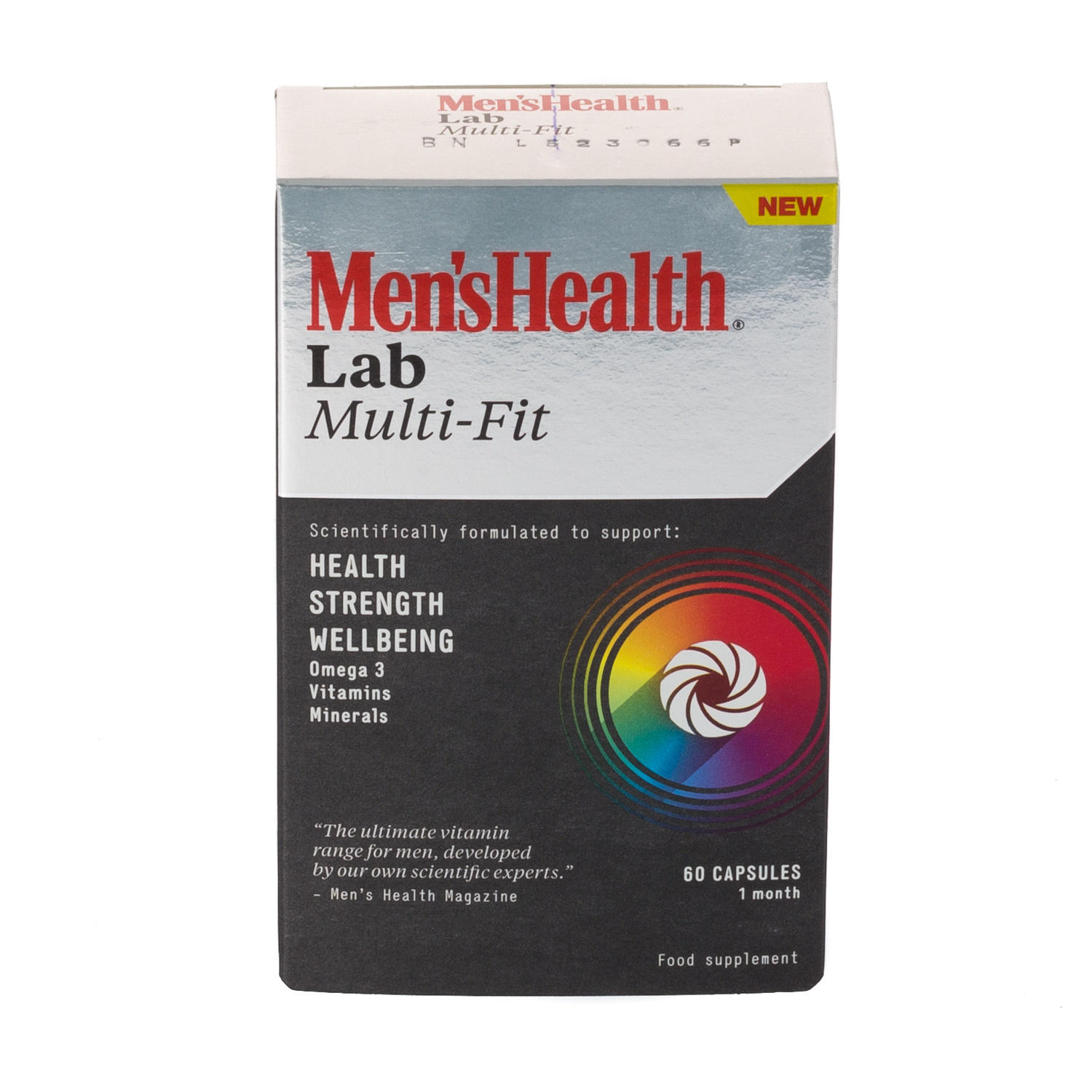 Mens Health Mutli Fit 60 Capsules 1 Month Supply
