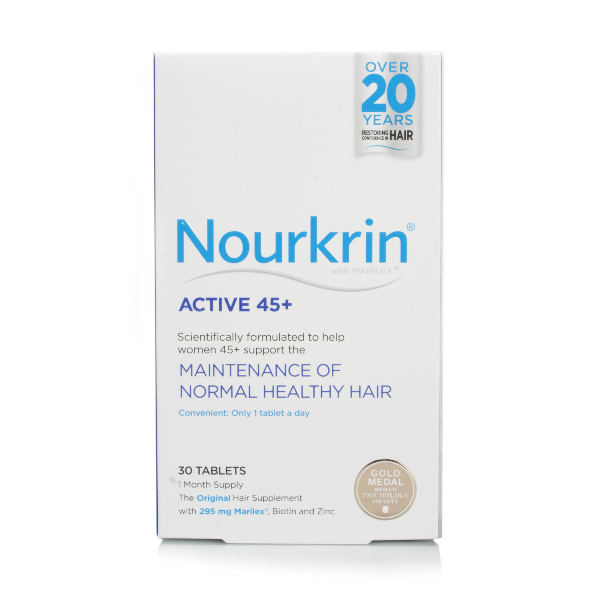 Nourkrin Active 45+ 1 Month Supply