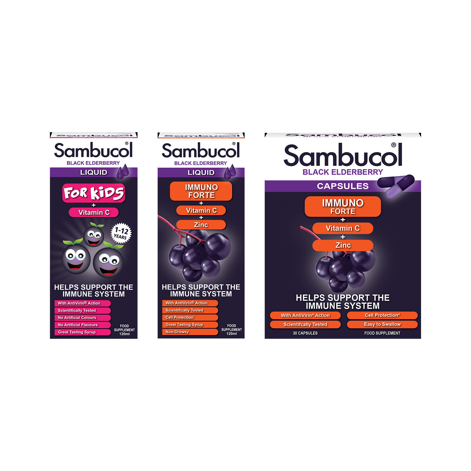 Sambucol Family Bundle