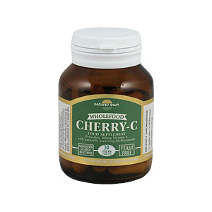 Nature's Own Cherry-C Wholefood Vitamin C 30 Vegan Caps
