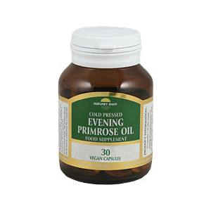 Nature's Own Evening Primrose Oil 90 Vegan Caps