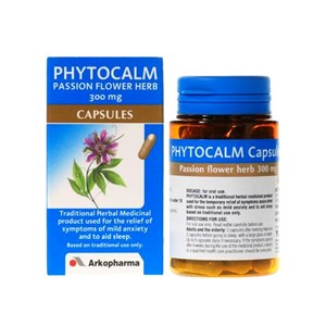 Arkopharma Phytocalm Passion Flower Herbs 300mg Capsules 45 capsules