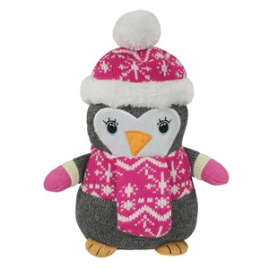 Aroma Home Knitted Cosy Friend Hottie - Penguin
