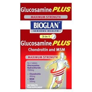 Bioglan 3 in 1 Glucosamine Plus Chrondroitin and MSM 30 tablet