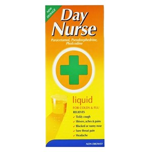 Day Nurse Liquid for Colds & Flu 240ml