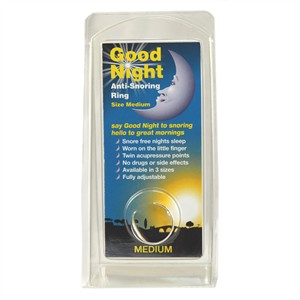 Good Night Anti Snoring Ring Large
