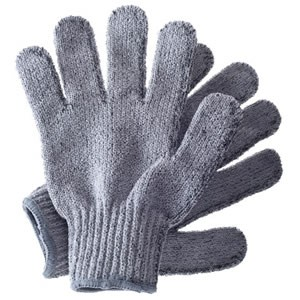 Hydréa Carbonized Bamboo Exfoliating Gloves