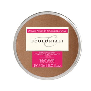 I Coloniali Silky Fondant Body Cream with Shea Butter 150ml