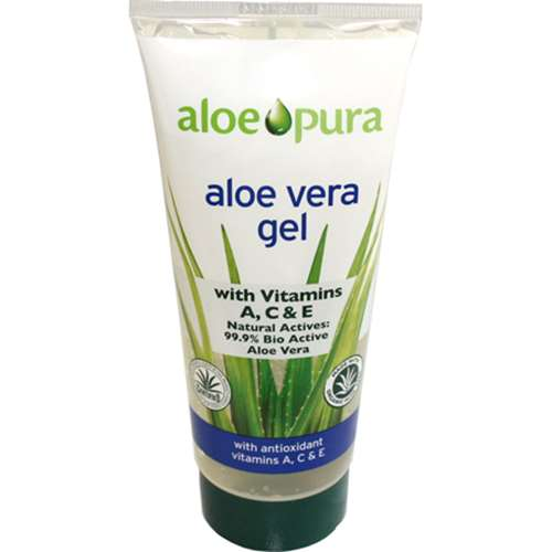 Aloe Pura Aloe Vera Gel with Vitamins A, C and E 200ml