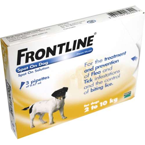 Frontline Spot On Dog 2-10kg 3