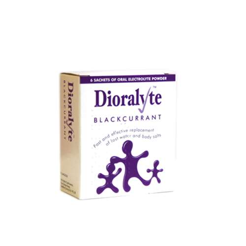 Dioralyte Sachets Blackcurrant (6)