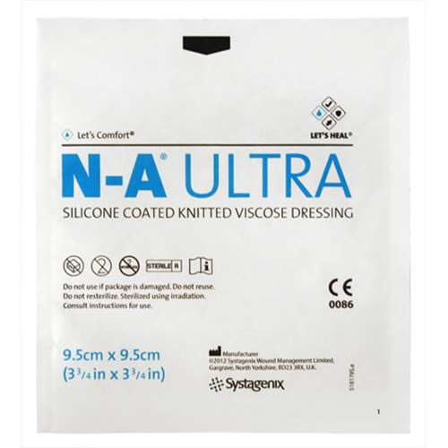 NA-Ultra Silicone Knit (Single Dressing) 9.5cm x 9.5cm (Small)