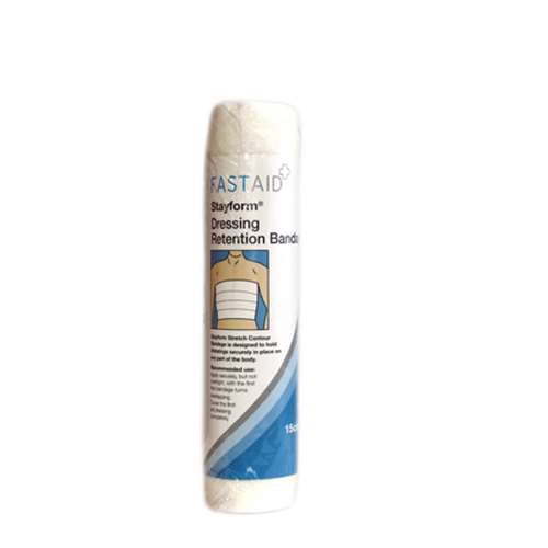 Fast Aid Stayform Dressing Retention Bandage 15cm x 4m