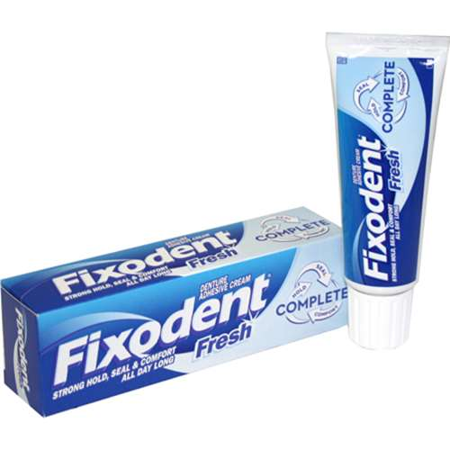Fixodent Fresh Denture Adhesive Cream 47g