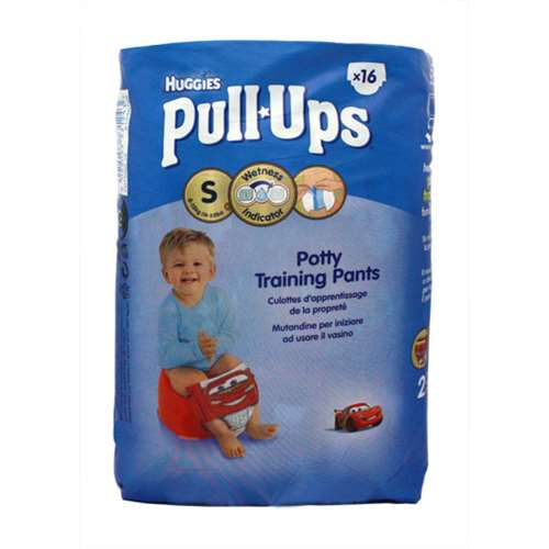 Huggies Potty Training Pants Size Small (8-15kg/18-33lb)