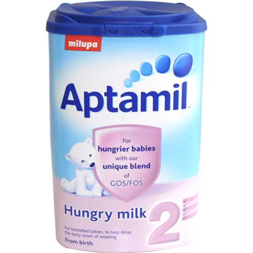 Aptamil 2 For Hungrier Babies (From Birth) 900g