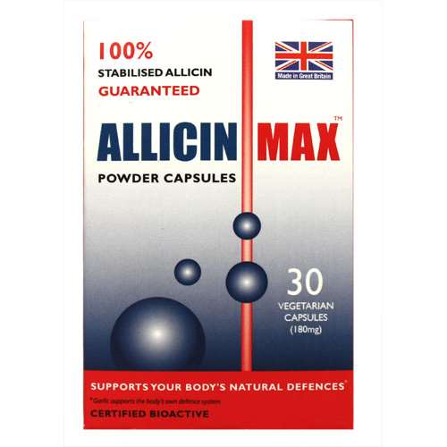 Allicin Max Powder Capsules 30