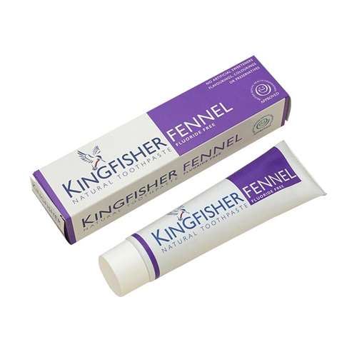 Kingfisher Fennel Fluoride Free Natural Toothpaste 100ml