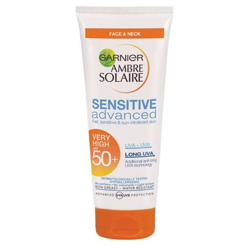 Ambre Solaire Sensitive Face and Neck SPF50+ 50ml