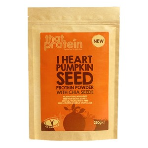 That Protein I Heart Pumpkin Seed Protein Powder with Chia 250g