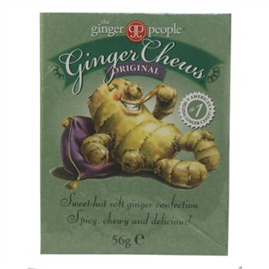 The Ginger People Ginger Chews Original 42g