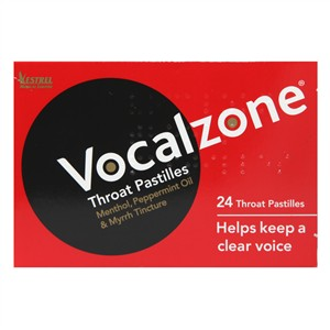 Vocalzone Throat Pastilles 24 pastilles