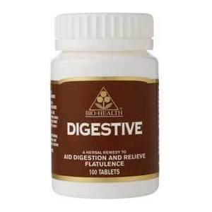 Bio-Health Herbal Digestive Tablets 100 Tabs