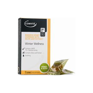 Comvita Manuka Honey Olive 12 Lozenges 12 lozenges