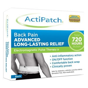 ActiPatch Back Pain Advanced Lon-Lasting Relief
