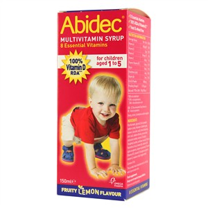 Abidec Multivitamin Syrup 150ml