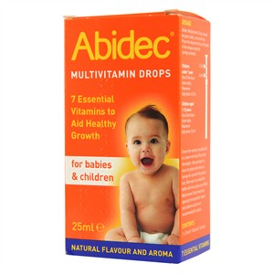 Abidec Multivitamins Drops For Babies & Children 25ml