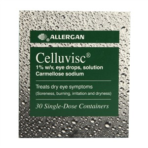 Allergan Celluvisc 1% w/v eye drops 30 single doses