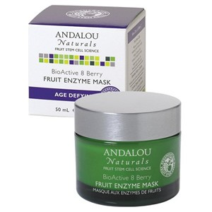 Andalou Naturals Age Defying BioActive 8 Berry Fruit Enzyme Mask 50ml