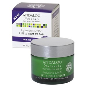 Andalou Naturals Age Defying Hyaluronic DMAE Lift & Firm Cream 50ml