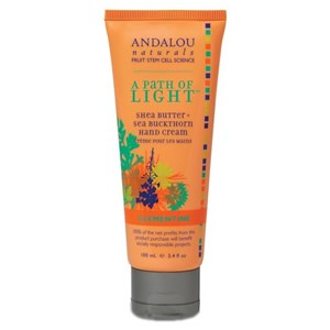 Andalou Naturals Clementine Shea Butter + Cocoa Butter Hand Cream 100ml