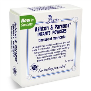 Ashton and Parsons Infant`s Powders 20 sachets
