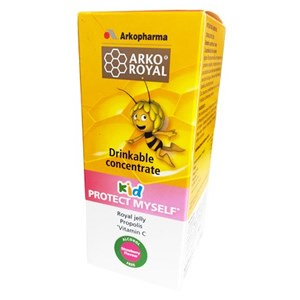 Arkopharma Arko Royal Kid Protect Myself Drinkable Concentrate 150 ml - Strawberry Flavour