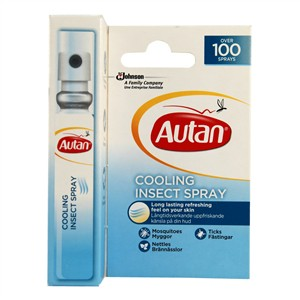 Autan Cooling Insect Spray 8ml
