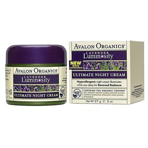 Avalon Organics Brilliant Balance Lavender Ultimate Night Cream 50g