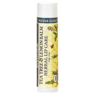 Badger Balm Tea Tree & Lemon Balm Herbal Lip Care 4.2g / 0.15 oz