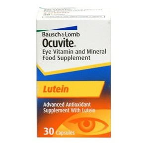 Bausch & Lomb Ocuvite Lutein 30 Caps