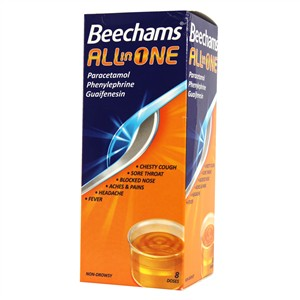 Beechams All - In - One Liquid 160ml