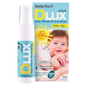 BetterYou Infant DLux Vitamin D Oral Spray 15ml