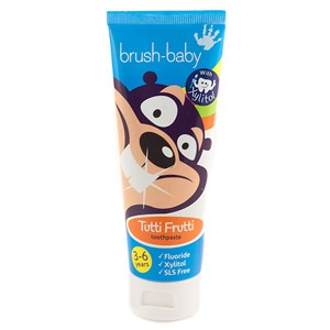 Brush-Baby Tutti Frutti Toothpaste (3-6 Years) 50ml