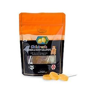 Comvita Children's Lemon & Honey Lollipops 10 Lollipops